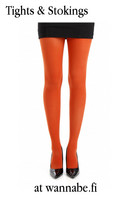 40 den velvet tights, rust
