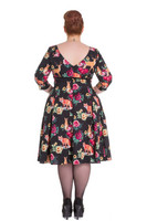 4551 Hermeline 50´s dress, plus size