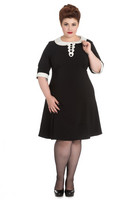 4649 Magpie Mini dress, plus size