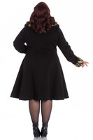 8074 Feline Coat, plus size