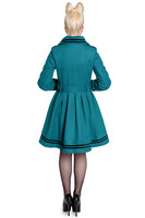 8018 NEW MILLIE COAT,TEAL