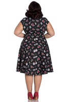 4783 STEVIE 50´S DRESS, plus size