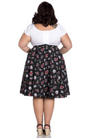 5476 STEVIE 50´S SKIRT, plus size