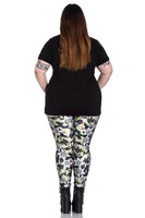 5495 Peepers Leggings, plus size