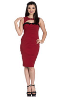 4664 Miley Pencil dress, red