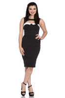 4664 Miley Pencil dress, blk