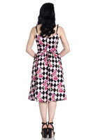 4805 Harlequin 50´s dress