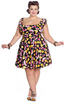 4710 Tutti Frutti mini dress, plus size