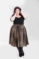 5505 Panthera 50´s skirt, plus size