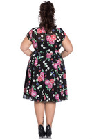 4425 Bloomsbery 50´s dress, plus size