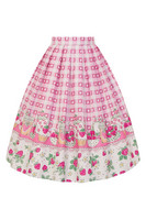 5494 Strawberry Shortcake skirt