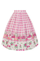 5494 Strawberry Shortcake skirt, plus size