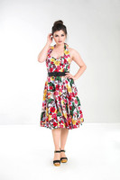 4176 Mexico 50`s dress, plus size