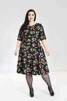 4832 Cherie 50´s dress, plus size