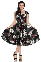 4717 Kalei 50´s dress, blk