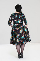 4847 Blue Bell 50´s dress, plus size