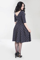 4734 Peebles 50´s dress, nvy