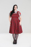 4827 Irvine Pinafore dress, plus size