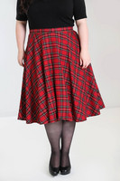 5502 Irvine 50`s skirt, plus size