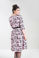 4851 Anderson 50´s dress, pink