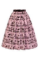 5516 Anderson skirt, pink