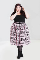 5516 Anderson skirt, pink, plus size
