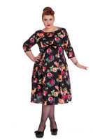 4551 Hermeline 50ś dress, plus size