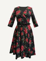 4857 HELL BUNNY CHERILYN DRESS