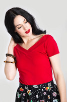 6670 Alex top, red