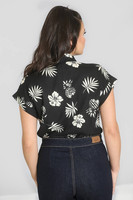 6678 Pineapple shirt, blk