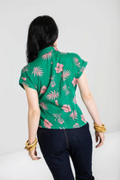 6678 Pineapple shirt, grn