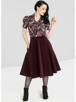 HLB50002 JEFFERSON SKIRT, WINE