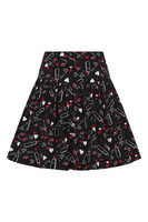 50011 HELL BUNNY BISOUS MINI SKIRT