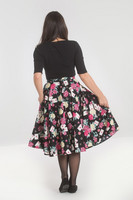 50012 HELL BUNNY QUEEN OF HEART 50´S SKIRT