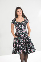 40026 HELL BUNNY LILY ROSE 50´S DRESS