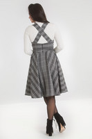 40018 HELL BUNNY FROSTINE PINAFORE DRESS