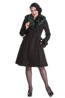 HLB8055 ROCK NOIR COAT, GRN