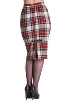 5350 HELL BUNNY JODIE PENCIL SKIRT