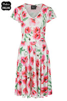 40108 HELL BUNNY AQUARELLE DRESS