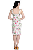 4582 HELL BUNNY BAMBOO PENCIL DRESS, S, M