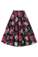 50092 HELL BUNNY RUBY 50´S SKIRT