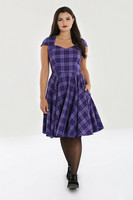 40153 HELL BUNNY KENNEDY MID DRESS
