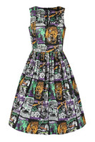 40149 HELL BUNNY BE AFRAID 50´S DRESS