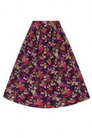 50089 HELL BUNNY BERRY CRUSH SKIRT