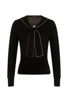 6653 HELL BUNNY CONNIE JUMPER, BLK