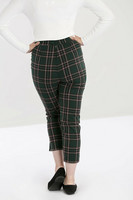 50077 HELL BUNNY MILES CIGARETTE TROUSERS