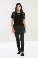 50093 HELL BUNNY STORM SKINNY TROUSERS