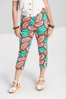 50120 HELL BUNNY MELONIE CIGARETTE TROUSERS