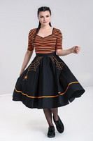 50130 HELL BUNNY MISS MUFFET 50´S SKIRT, OR