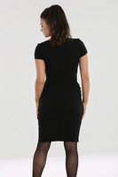 40115 HELL BUNNY CLAIRE PENCIL DRESS